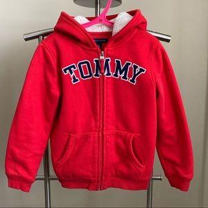 Tommy kid red hoodie